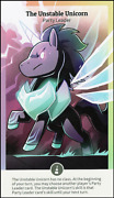 Here To Slay Expansions Sorcerors Monsters + Unstable Unicorns Leader Card