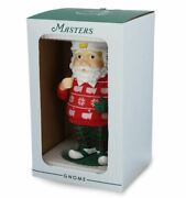New 2020 Limited Edition Masters Holiday Garden Gnome