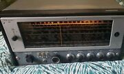 Vtg Hallicrafters Sx-62a Ham Radio Receiver Untested Powers On Lights Up