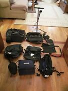 Arkel Camping Panniers And Konnix Frnt Waterproof Panniers / Floor Pmp. And More