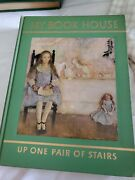 Vintage My Book House Up One Pair Of Stairs Volume 3 Green Hard Cover 1953 Euc
