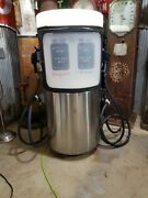 Vintage Gilbarco Stainless Gas Pump Mobil