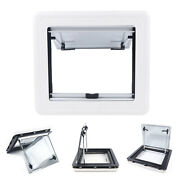 Rv Top Hinged External Push Out Window Hatch Anti-mosquito Ventilation 450500mm
