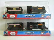Thomas The Tank Engine Trackmaster [donald And Douglas ] New In Andnbspbox