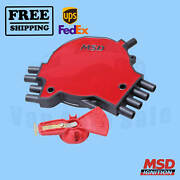 Distributor Cap And Rotor Kit Msd For Buick Roadmaster 1995-1996