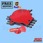 Distributor Cap And Rotor Kit Msd For Buick Roadmaster 1994