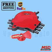Distributor Cap And Rotor Kit Msd For Cadillac Commercial Chassis 1994