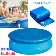 Round Swimming Pool Cover For Intex Bestway Garden Paddling Pools Cover 3 Sizes