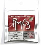 Mitsubishi Pmc3 Precious Metal Clay Silver 50 Grams Import New From Japan