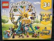 Lego Creator 31119 Ferris Wheel Building Kit 1002 Pieces Brand New And Sealed