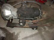 Jeep Cj J Truck T18 Transmission T Case With Pto And Winch 4-speed