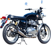 Sands Cycle Qualifier 21 Royal Enfield Race Exhaust Stainless Steel 550-1031
