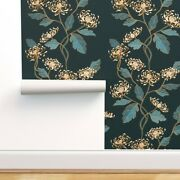 Peel-and-stick Removable Wallpaper Nouveau Vintage Chinese Japanese Home Decor