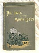 Mabel Collins - Idyll Of The White Lotus - 1st/1st 1884, Occult, Jack The Ripper