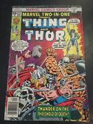 Marvel Two-in-one22 Awesome Condition 5.01976 Vs Seth,thor