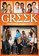 Greek Chapter Six 6 The Complete 4th Fourth Season Series 4 Tv Show Dvd New