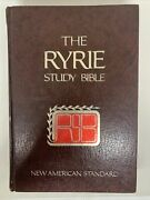 The Ryrie Study Bible New Testament Nas W Colored Code Maps Charles Caldwell