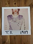 Taylor Swift 1989 Rsd Exclusive Pink And Clear Vinyl 600/3750 Sold Out And Oop Pop