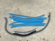 Above Ground Swimming Pool Accessories Hoses To Skimmer From Pump And Pool.
