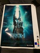 Final Proof Tron Legacy 42 X 32 Test Poster Color Panel Proof Poster Rare