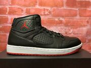 Nike Jordan Access Bred Black Gym Red Ar3762-001 Menand039s Lifestyle Sneakers Sizes