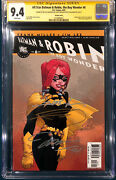 Frank Miller And Jim Lee 4x Entire Team Signed All Star Batman And Robin 6 Cgc 9.4