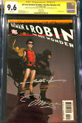 Frank Miller And Jim Lee 4x Entire Team Signed All Star Batman And Robin 10 Cgc 9.6