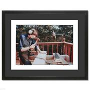 James Taylor Giclee Photo Signed By Peter Simon Framed Coa Gorgeous Auto
