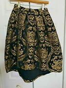 Nwt Womenandrsquos Gianni Bini Size Xs Xsmall Floral A Line Fancy Skirt Retail 99