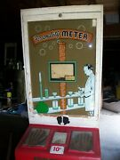 Vintage 1950's Coin Op Penny Arcade Game / Personality Meter / 10 Cent Game