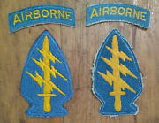 10th 77th Sf Special Forces Group Sfg Ssi Teal Tab Patch Insignia Sets Lot