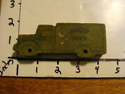 Vintage Wooden Judy Toys Delivery Truck, Small