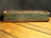Paperlitho Covered Wooden Train Car--boomerang Car--