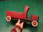 Vintage 16 Wooden Toy Truck From Harris Toy Mfg. Out Of Malden Mass