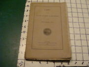 Original June 1854 Laws Of The State Of New Hampshire I Show Index 109pgs