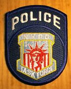 Gemsco Nos Nypd Vintage Patch Police Task Force Nypd - Nyc - Ny - Original 30+