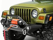 Barricade Trail Force Hd Front Bumper And Led Lights Fits Jeep Wrangler 1987-2006