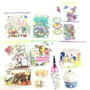 Lot Jolee's Boutique, Martha Stewart, Kandc Co, Recollections Stickers, Cutouts