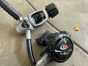 Aqualung Titan Lx Scuba Dive First And Second Stage Regulator Lp Inflator Hose