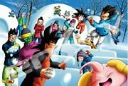 Dragon Ball Super Jigsaw Puzzle 1000 Pieces Snowball Fight F/s From Japan