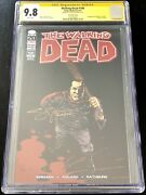 The Walking Dead 100 Cgc 9.8 Ss 2nd Print 1st Negan Signed By Steve Yeun