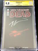 The Walking Dead 100 Cgc 9.8 Ss Lucille Edition Signed By Robert Kirkman