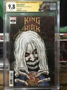 King In Black 1 1500 Cgc 9.8 Signed 2x Donny Cates And Ryan Stegman Venom Knull
