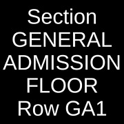2 Tickets Rage Against The Machine And Run The Jewels 8/11/22 New York Ny