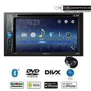 Pioneer Avh-221ex Multimedia Dvd-receiver With Bullet Style Backup Camera