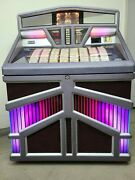 Rowe Ami R-93 Jukebox Coin Operated 45 Rpm Vinyl 200 Selections Grey 14