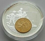 Finland European Currency 2002 Inlay Large Proof Medal 55 Mm 62 G Y01 135