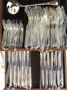 Marly Christofle Dinner Set Forks Spoons Knives Silver Plated Never Used
