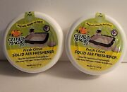 Citrus Magic 2-pack Solid Air Freshener Litter Box Cages/beds Absorbs Pet Odors