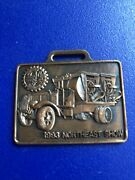 """Vintage Antique Pocket Watch Fob Mack """"ap"""" Truck- Very Rare-with 16 Page Book"""